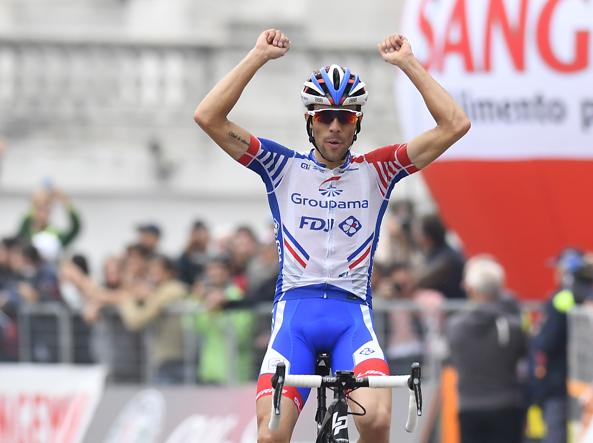 Pinot conquista il Lombardia davanti ad un combattivo Nibali