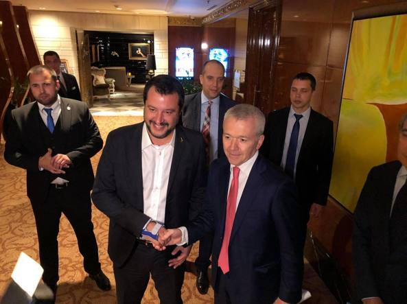 Mosca: l'affondo di Salvini