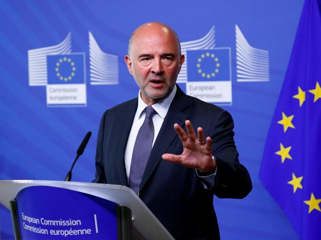 Moscovici, dall'Italia nessun rischio di contagio
