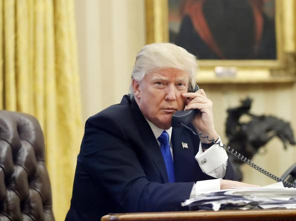 Trump chiama Conte: