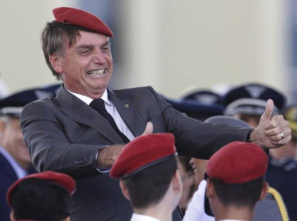 Brasile: Bolsonero diventa presidente col 55% dei voti
