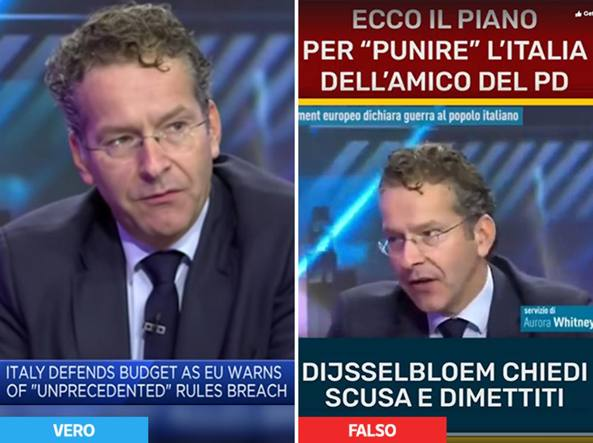 M5S, l'intervista inventata a Dijsselbloem: l'attacco inesistente alle finanze italiane - il confronto