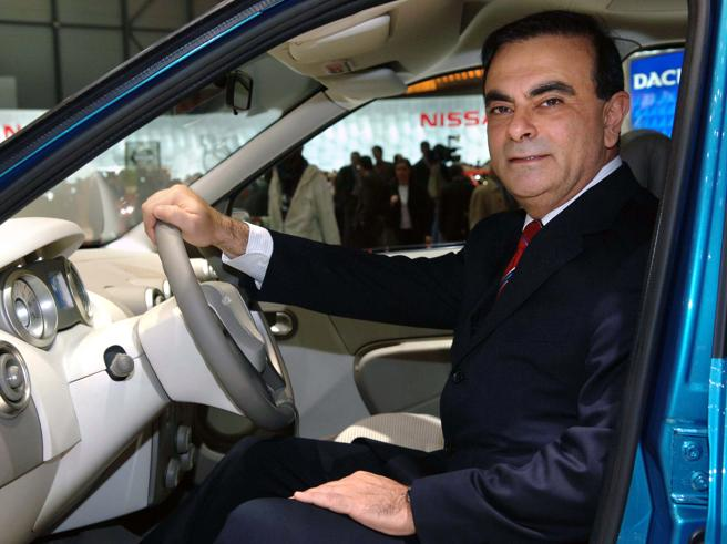 Il presidente di Nissan-Renault verso l'arresto per falso
