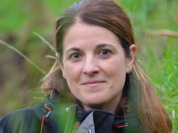 La biologa Veronica Vecellio, 44 anni, originaria di Belluno