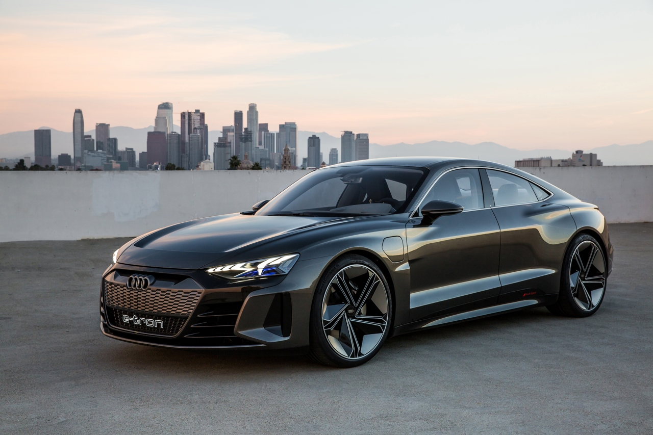 La Audi E Tron Gt Concept Corriere It