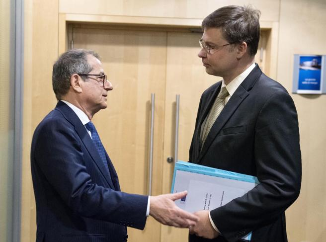 Manovra, Valdis Dombrovskis: