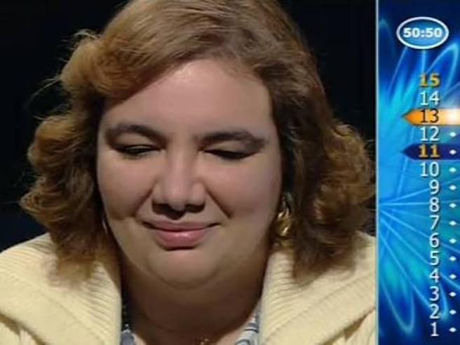 Vincitrice 'Chi vuol essere milionario' disoccupata: parla Michela De Paoli