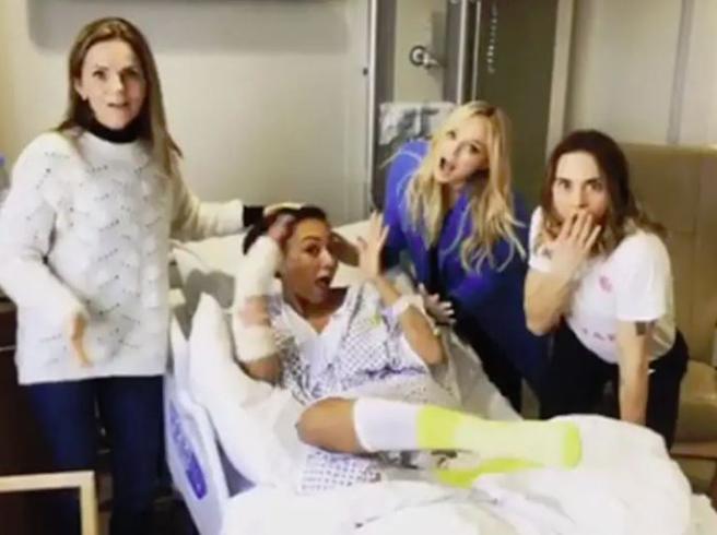 Mel B operata d'urgenza, la reunion delle Spice Girls in ospedale