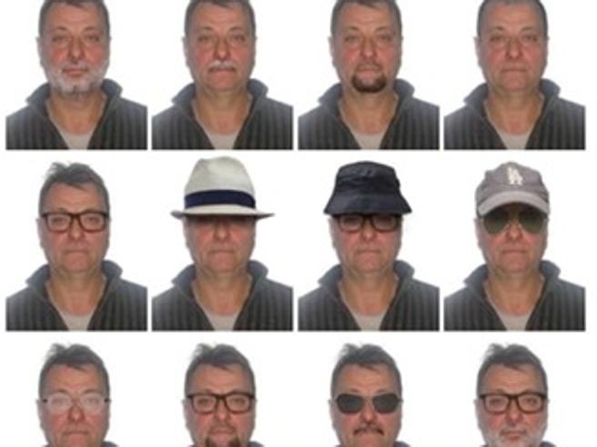 Battisti, la polizia brasiliana diffonde foto con 20 possibili travestimenti