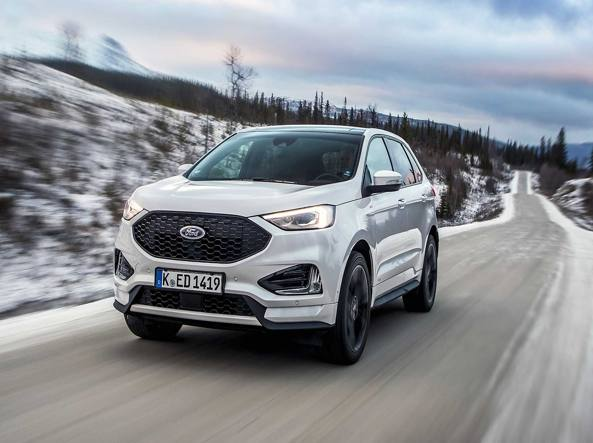 Ford Edge, trazione integrale alleata all'intelligenza artificiale |Il video
