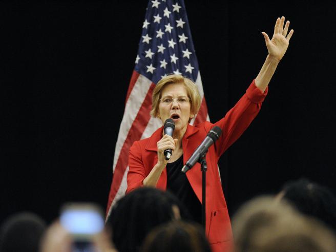 Elisabeth Warren punta alla Casa Bianca: è la prima Dem a candidarsi