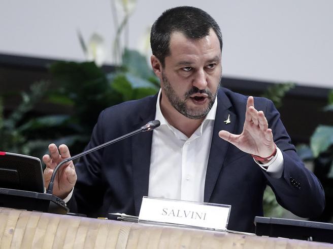Matteo Salvini a Varsavia: in Europa alleanza come Lega-M5s