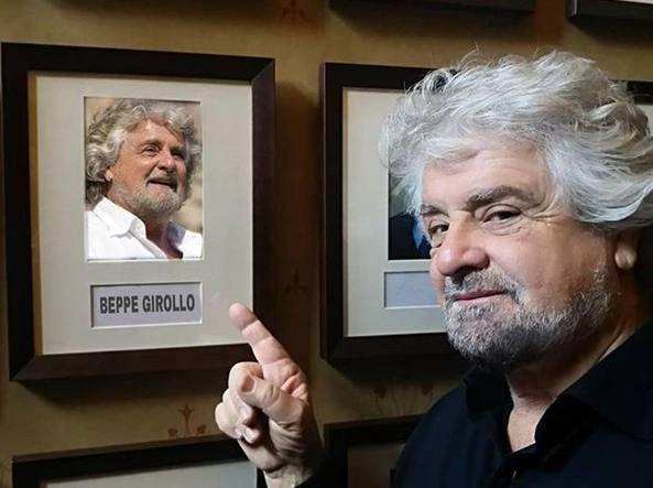 Beppe Grillo contestato dagli studenti alla Oxford Union