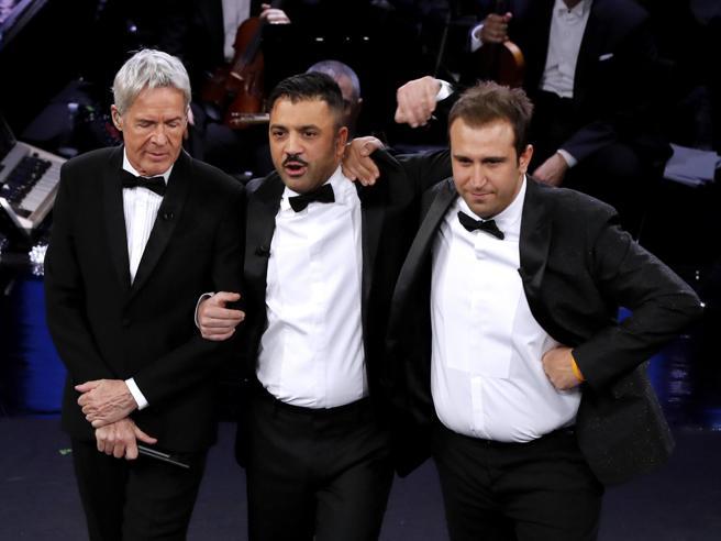 Matteo Salvini, Pino e Amedeo e l'improbabile scontro