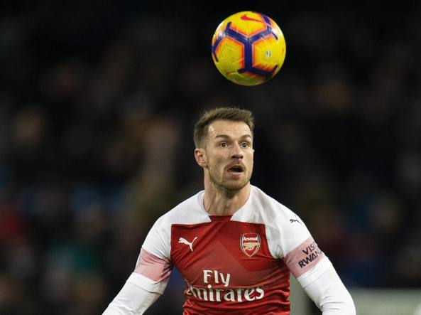 Aaron Ramsey 28 anni all'ultima stagione nell'Arsenal