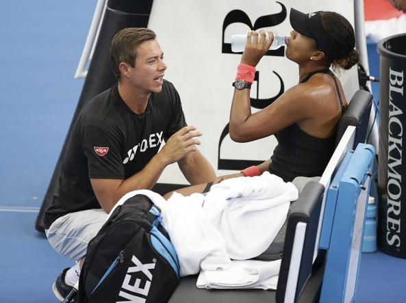 Tennis: la Osaka lascia il coach Bajin