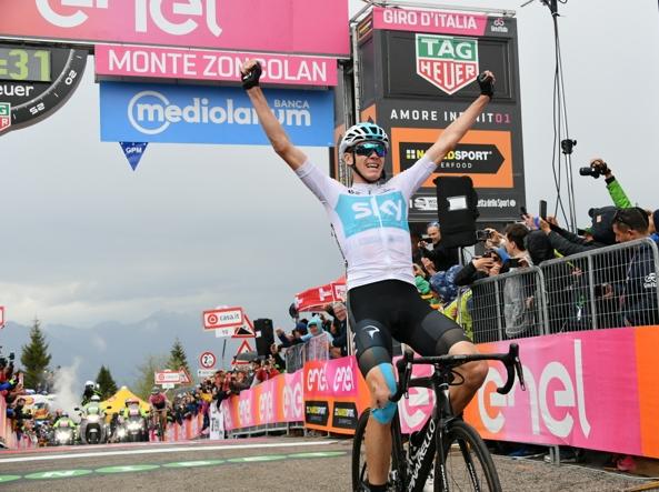 Giro: in 2020 fa tappa dalle Frecce Tricolori in Fvg