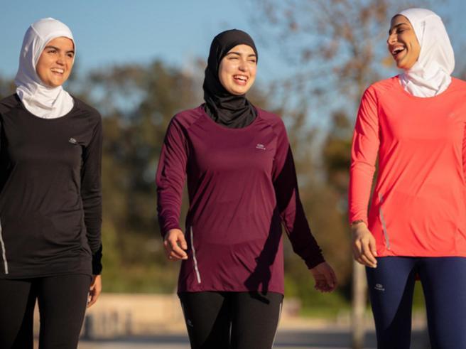Decathlon e l'hijab sportivo