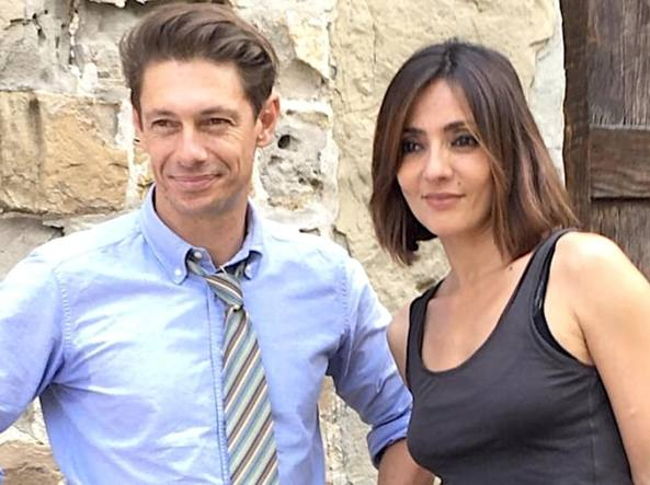 Ambra Angiolini in tv con