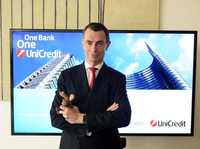 Unicredit, cambia la squadra di vertice: elaborerà il piano 2020-23