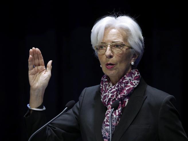 Lagarde (Fmi): economia globale dovrà affrontare un rallentamento nel 2019