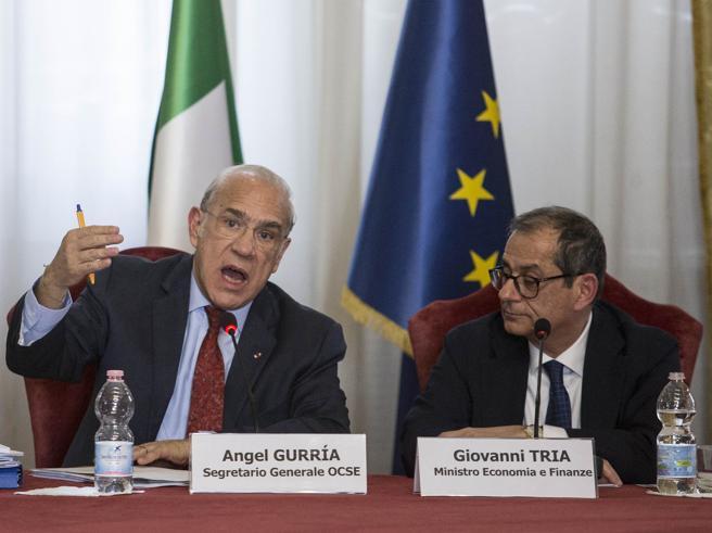 Rapporto Ocse sull'Italia:
