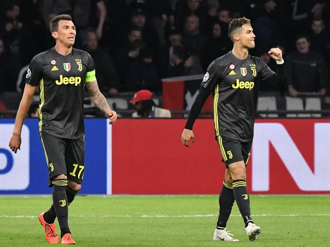 Ajax-Juventus le pagelle sistema tutto Ronaldo Rugani lottatore