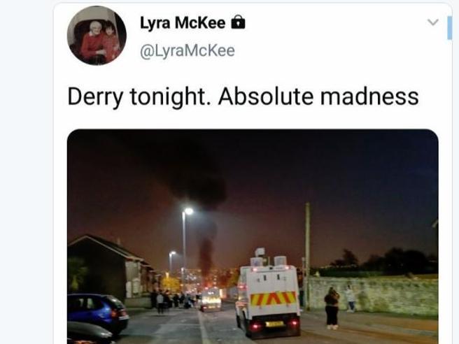 Scontri in Irlanda del Nord Uccisa una giornalista