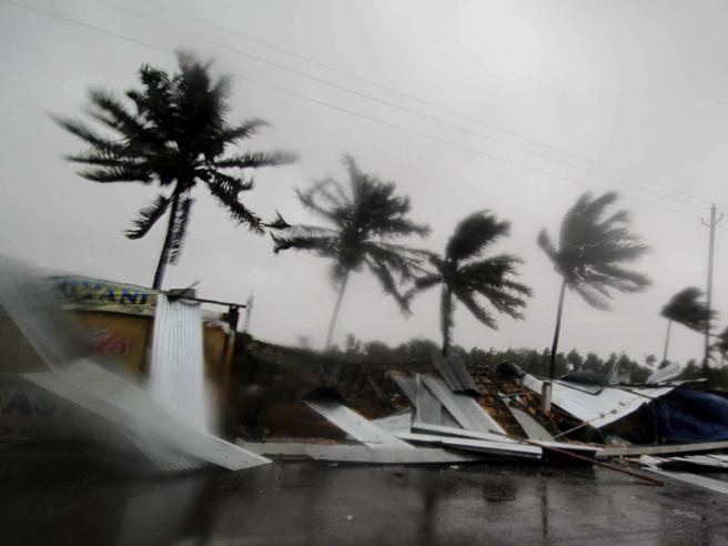 India: ciclone Fani, evacuate 1,2 milioni persone