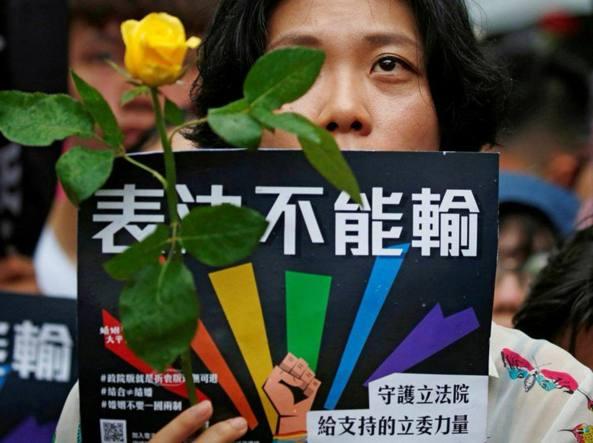 Nozze gay legalizzate in Taiwan: è la prima volta in Asia