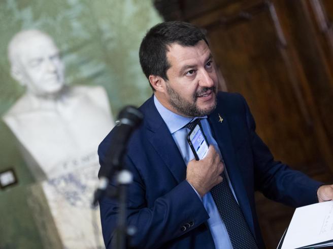 Governo, Salvini: voglio lavorare per quattro anni