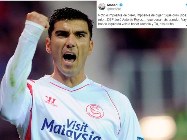 Morto il calciatore Reyes ex Real e Atletico