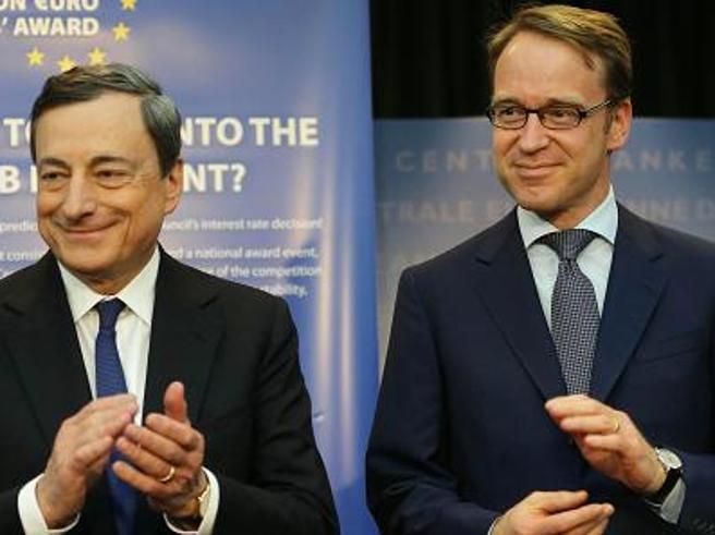 BCE, tassi di interesse invariati fino alla prima metà 2020