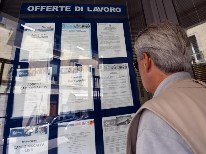Lavoro, Istat: nel primo trimestre +25mila occupati
