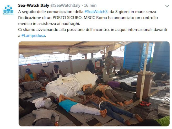 Migranti, la procura apre una nuova inchiesta sul caso Sea Watch VIDEO