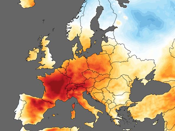Il giugno più caldo mai registrato nel mondo dal 1850