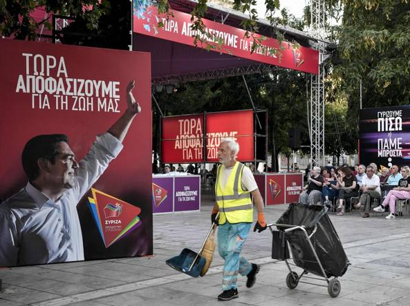Svolta a destra nelle elezioni in Grecia, finisce l'era Tsipras