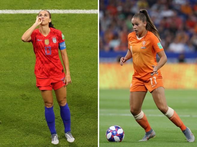 Mondiale femminile: gli Stati Uniti si confermano campioni, Olanda ko 2-0