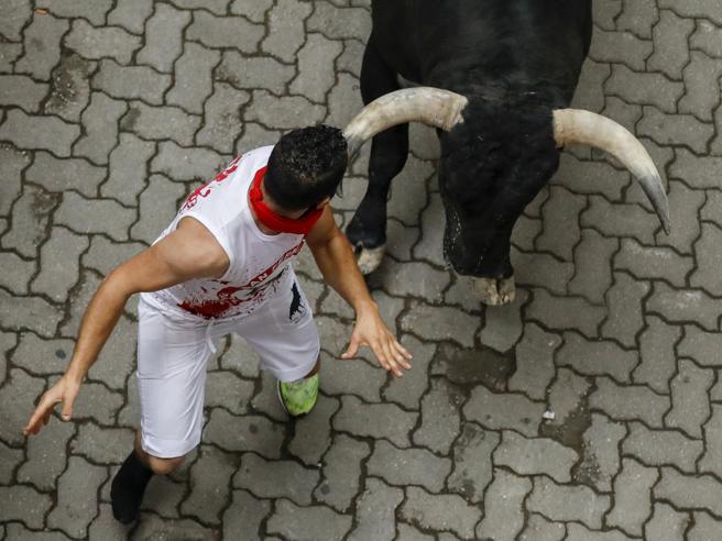 Incornati e travolti dai tori: è l'encierro