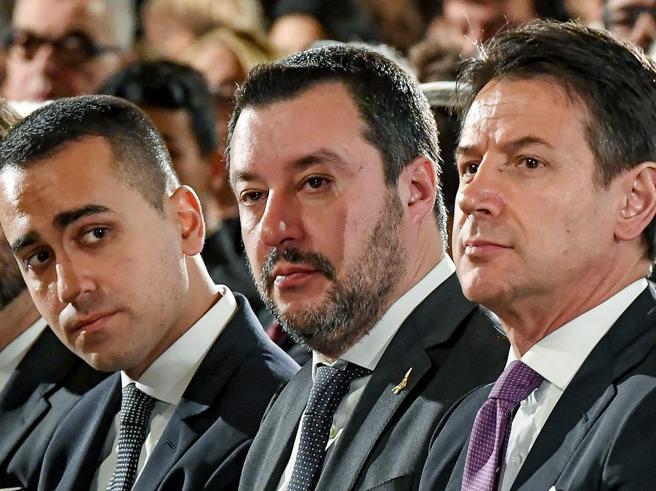 Continuano gli scontri a Palazzo Chigi tra Lega e 5 Stelle