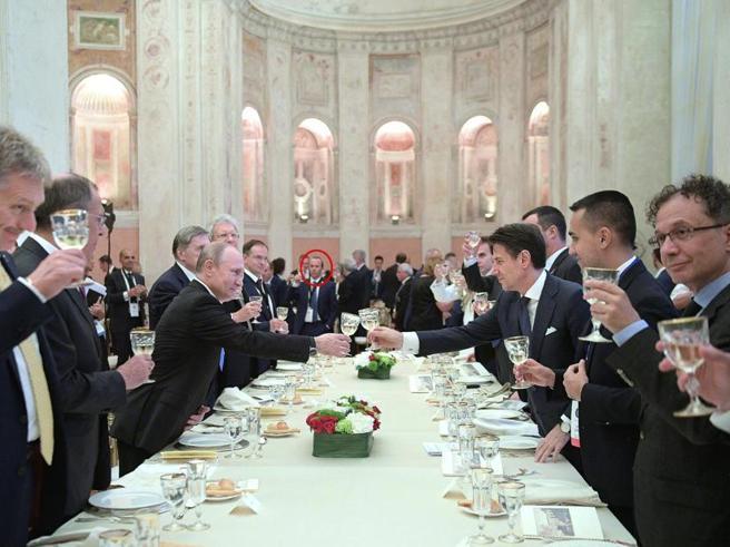 Savoini alla cena di villa Madama, Palazzo Chigi: richiesto da Salvini