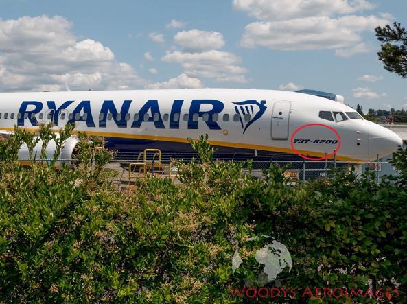 Boeing 737 Max, Ryanair cambia il nome ai suoi aerei