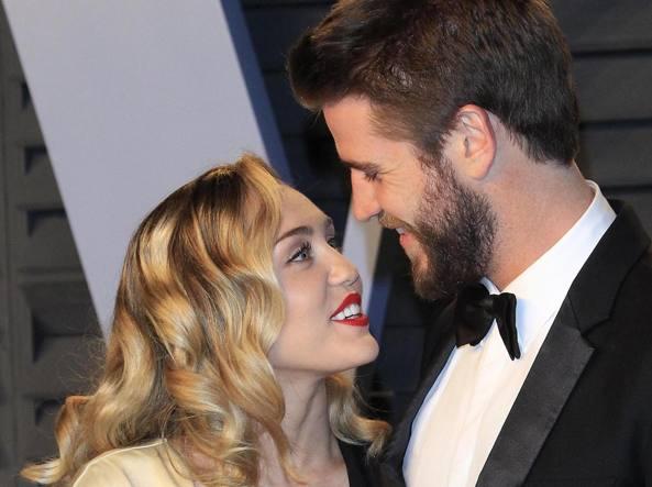 Miley Cyrus e Liam Hemsworth si separano l'addio dopo otto mesi di matrimonio