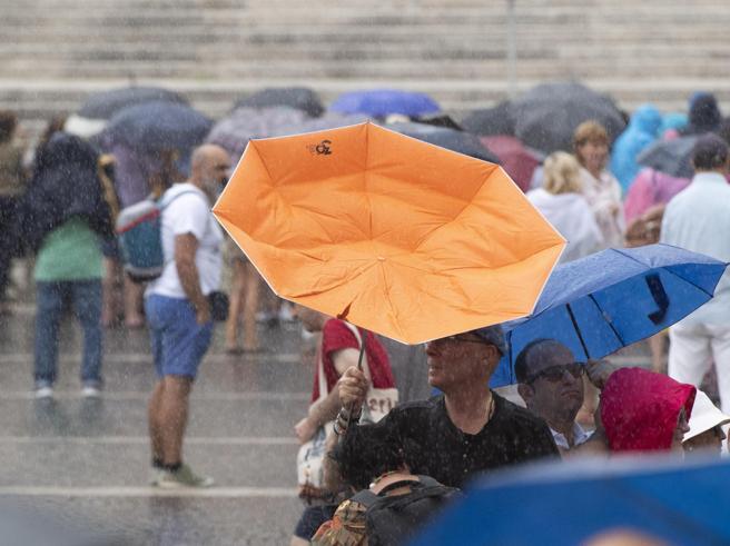 Allerta temporali e grandine in Sardegna