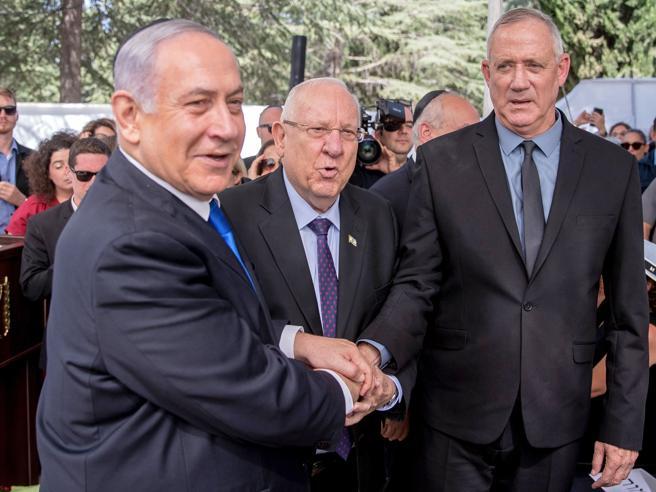 Netanyahu a Gantz: governo unitario