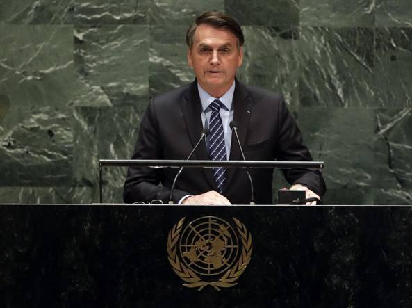 Bolsonaro all'Onu:
