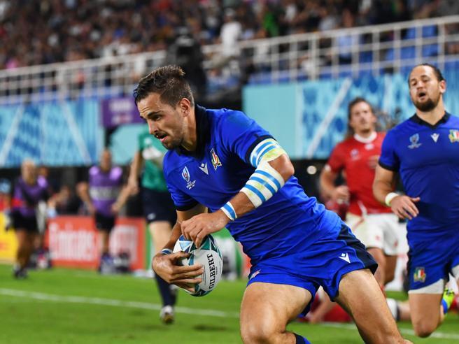 Mondiali Rugby, la carica di Steyn