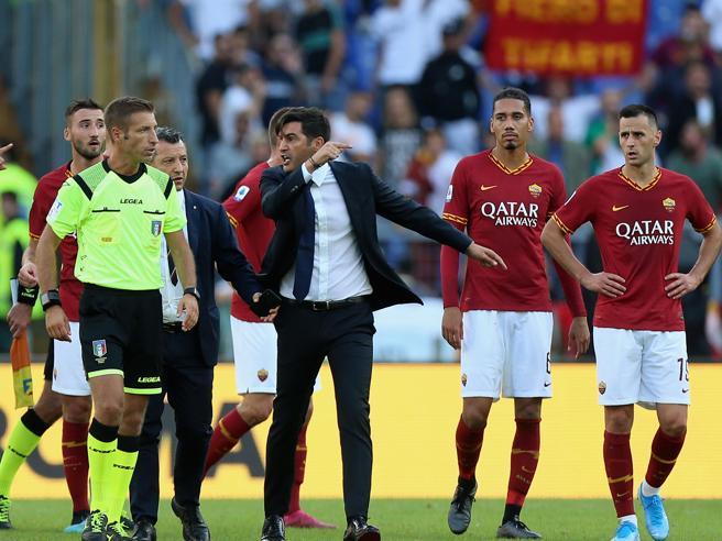 Petrachi si lamenta dopo Roma-Cagliari, Mentana: