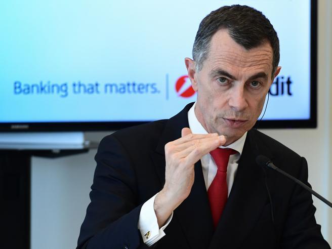 UniCredit, dal 2020 tassi negativi sui conti oltre i 100mila euro