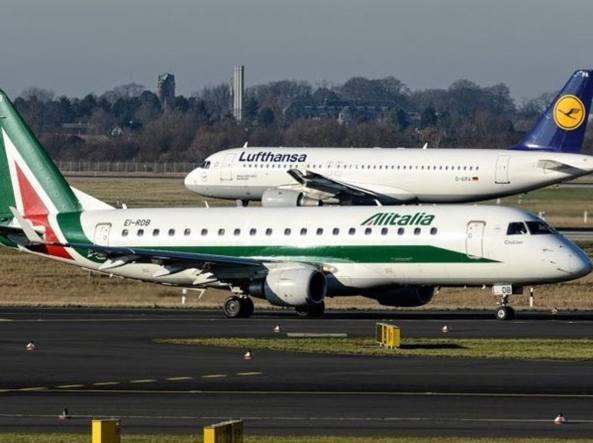 Alitalia, torna in campo Lufthansa